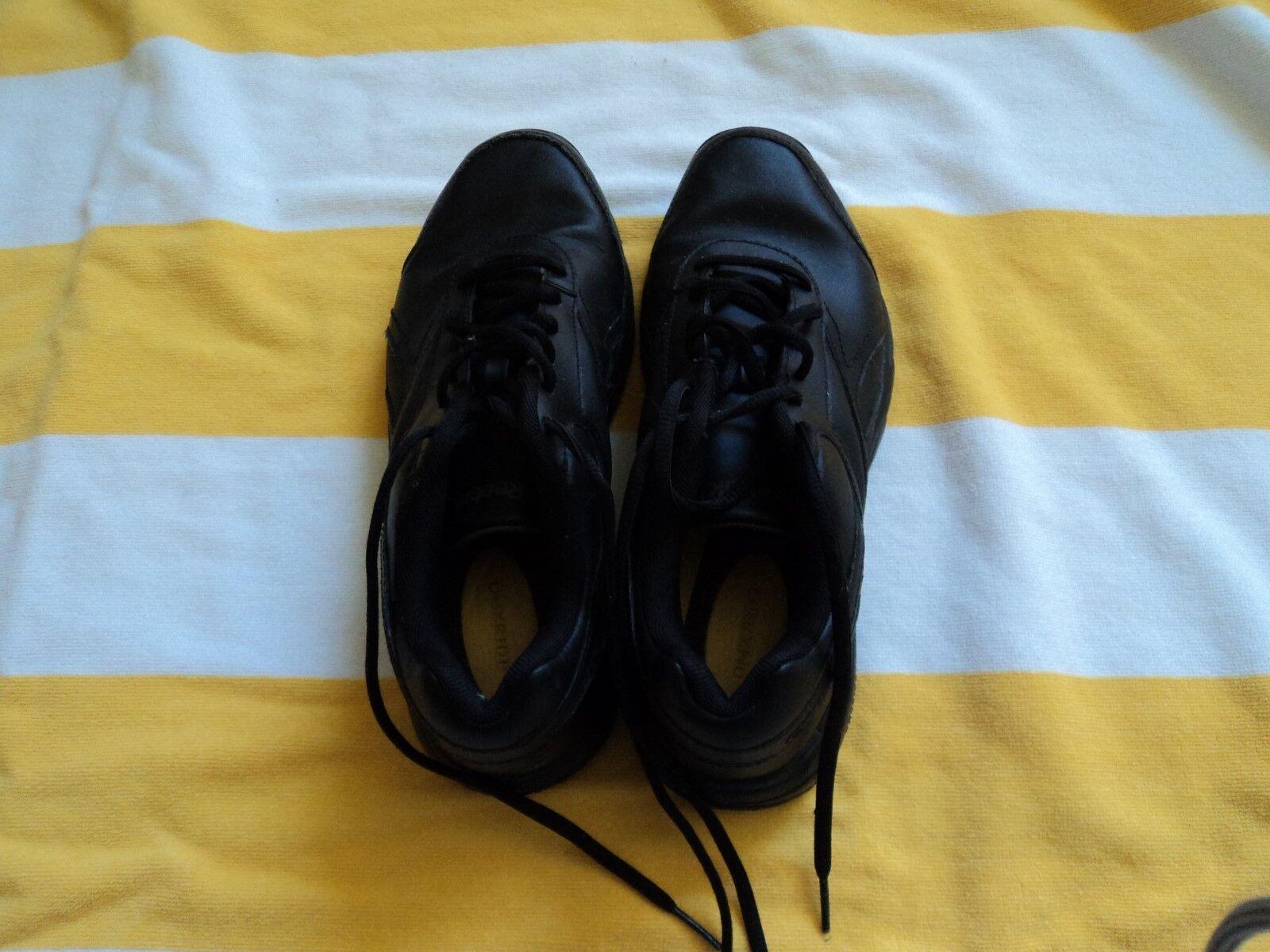 Negro zapatos para para para caminar Reebock. tamaño 8M Excelente Forma. OMX Ride aceite y Slip  muchas concesiones