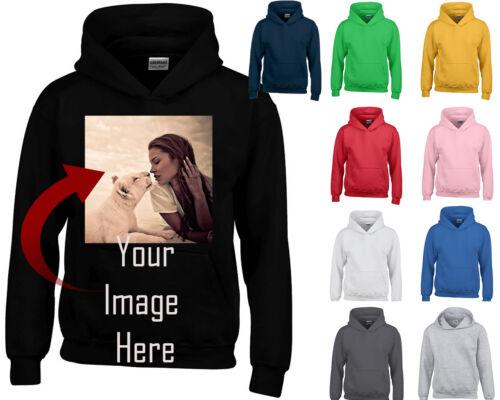 My Personalized Custom HOODIE SWEATSHIRT YOUR TEXT LOGO CREATE YOUR Shirt Custom