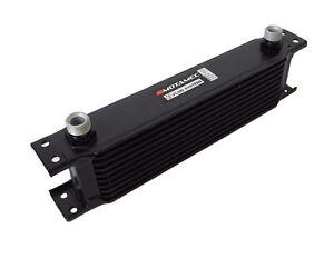 Motamec-Oil-Cooler-10-Row-235mm-Matrix-1-2-BSP-Black-Alloy