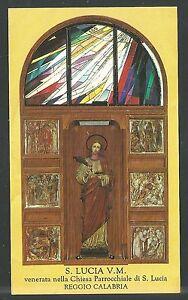 Image Pieuse De Santa Lucia Santino Holy Card Estampa Hofwnurh-07234213-115733517