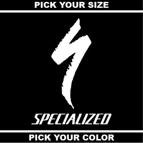 Bicycle Road Decal MTB Specialized Bikes Vinyl Sticker Mountain *