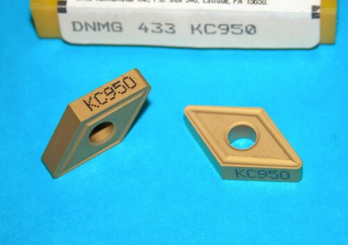 DNMG 433 KC950 KENNAMETAL CARBIDE INSERT
