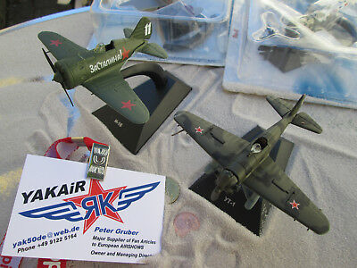 2er Set Polikarpow I 153 und 152 Tschaika   Поликарпов И-153 1:72  YAKAiR  Avion