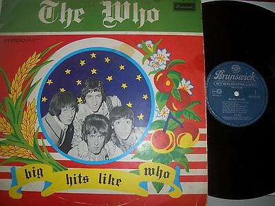 THE WHO LP PS Big Hits Like Who HOLLAND super rare BRUNSWICK DUTCH ONLY COVER!!