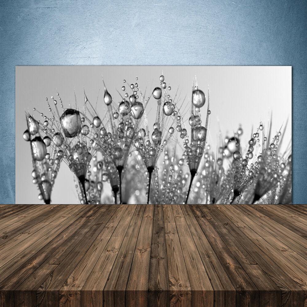 Crédence de cuisine en verre Panneau 140x70 Floral Abstrait