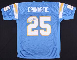 Antonio Cromartie Signed San Diego Chargers Jersey (PSA) 4X Pro ...