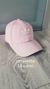 Détails sur Casquette Femme Adidas Rose/accessoire