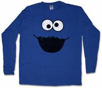 Cookie Monster Long Sleeve T-shirt Bert Puppet Sesame Monster Place Ernie Street