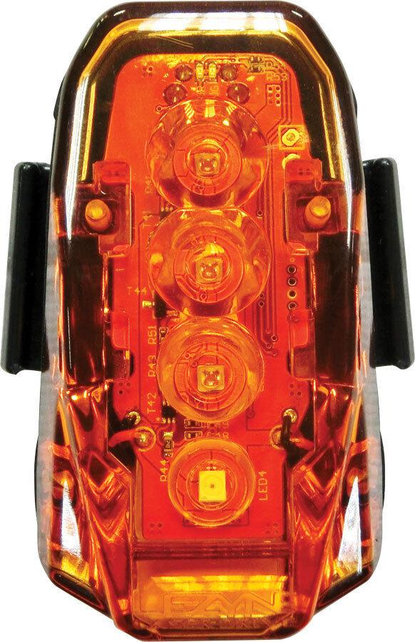Lezyne Laser Drive Bicicletta LED Faro Posteriore 250 Lumen Nero 1led23rv104