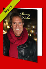 CLIFF RICHARD CHRISTMAS CARD Top Quality Repro Autograph Signed A5