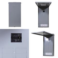 Outdoor 100 Amp 20 Space 20 Circuit Main Breaker Panel Box Load Center Plug In