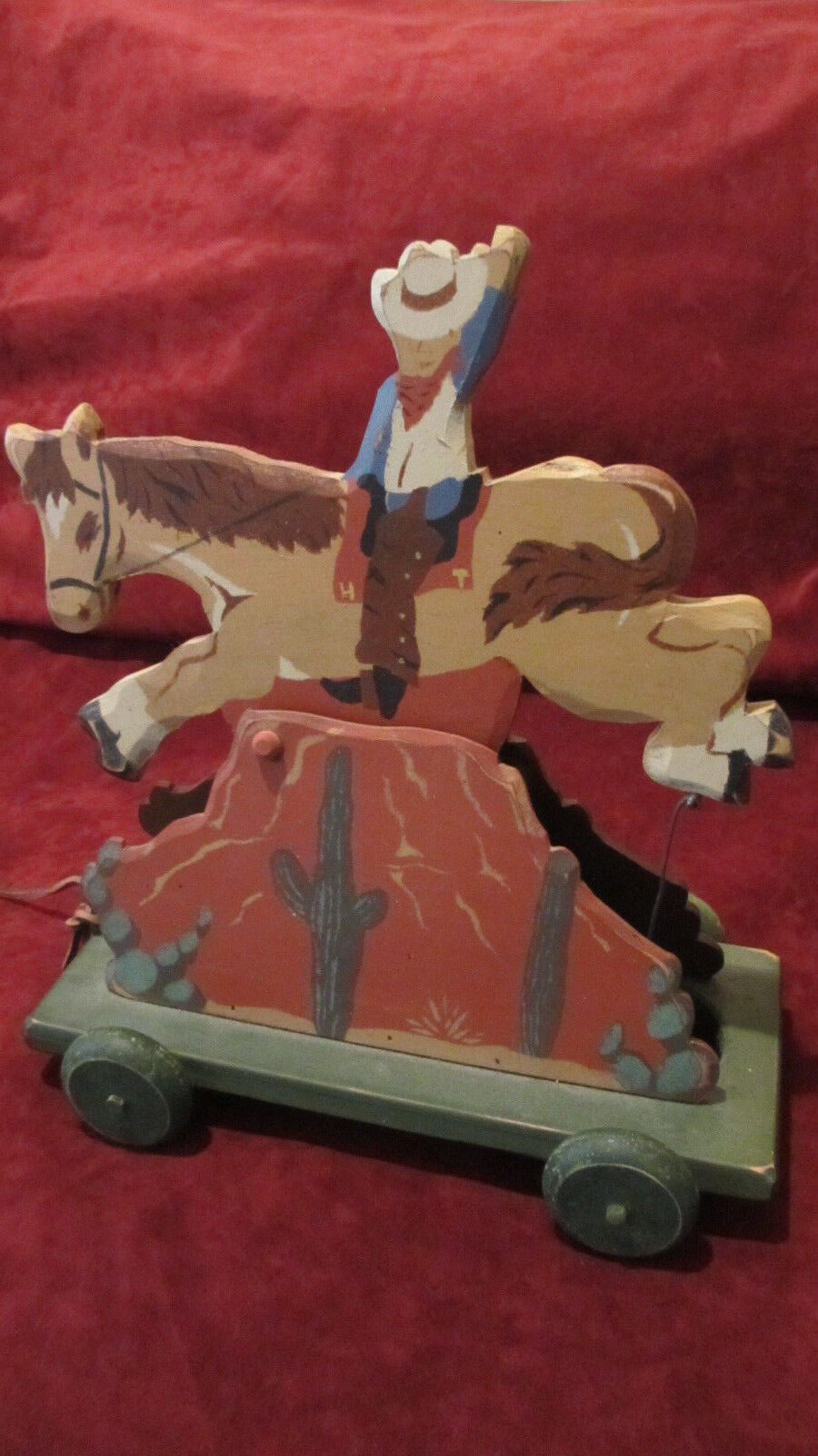 Heritage Collectible's Western Cowboy Musical Pull-ToyPlays Home on the Range