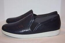Trotters Americana navy soft leather slip on   women's size 10 w
