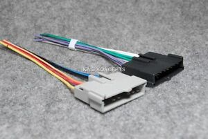 ford radio wiring harness adapter for aftermarket radio image is loading ford radio wiring harness adapter for aftermarket radio