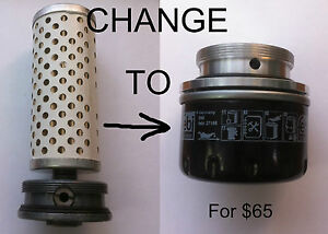 Special adapter of Oil filter for URAL.