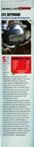 and CR250R CFC OFFROAD ENGINE ARMOR  CRF450 /& CRF450X All Years