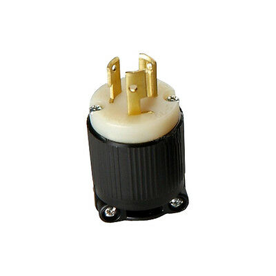 High quality UL Nema L6-15P 15A 125V//250V Rewirable DIY Plug