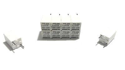 LOT OF 5 EACH NEW RIFA PFE 225 PFE225 CAPACITORS 1n 47R CDO 1.47 NF 200VDC