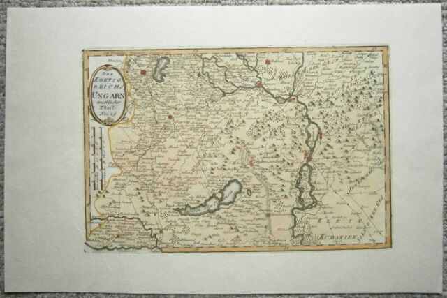 1791 Reilly map HUNGARY