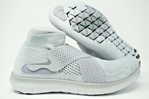 19140eefdcef Nike Free RN Motion Flyknit 2 Mens Running Shoes Grey Size 10 11 12 ...
