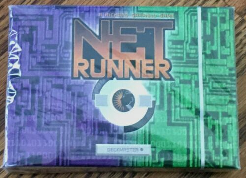 First Edition Starter Deck *NEW* Wizards of the Coast Netrunner CCG