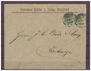 Deutsches-Reich-MiNr-46-MeF-KGS-Norderney-nach-Eschwege-29-08-1898