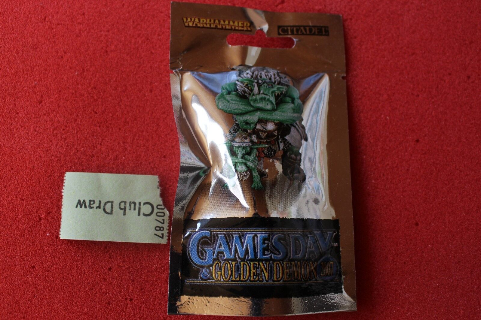 Games Workshop Warhammer Gamesday 2007 GD07 Limited Edition Orc Warboss Metal GW