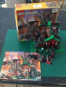 Lego System 6088 Ninja Robber's Retreat - Rare, 100% complet, emballé