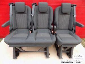 Swell Details About Seat Ford Transit Custom 2013 2017 Bench Rear Seats Set Brackets Armrests Rhd Uwap Interior Chair Design Uwaporg