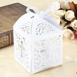10-50-100pcs-Cross-Hollow-Wedding-Party-Paper-Favor-Candy-Boxes-With-Ribbon-RF