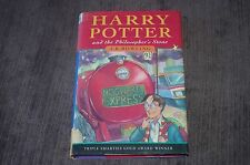 HARRY POTTER AND THE PHILOSOPHER'S STONE 1ST EDITION 24TH PRINTING FIRST BOOK