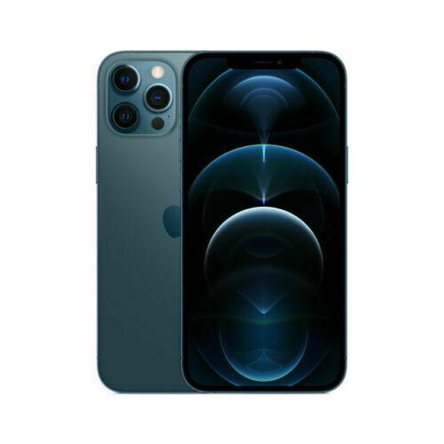 Apple iPhone 12 Pro Max - 256GB - Pazifikblau (Ohne Simlock)