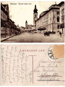 CPA-CLUJ-KOLOZSVAR-Kossuth-Lajos-utca-ROMANIA-503629