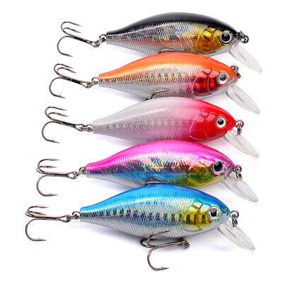 Crankbaits Baits, Lures & Flies 7*2.2*1.7cm 13g Fishing Lures Crankbait Hard Fish Lure Crank Bait Tackle Wobbler