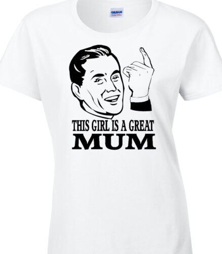 Mum Ladies T-Shirt Gift Family Birthday Mothers Day Party Celebration Great Best