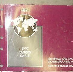 1997 FORD TAURUS MERCURY SABLE Electrical Wiring Diagrams ...
