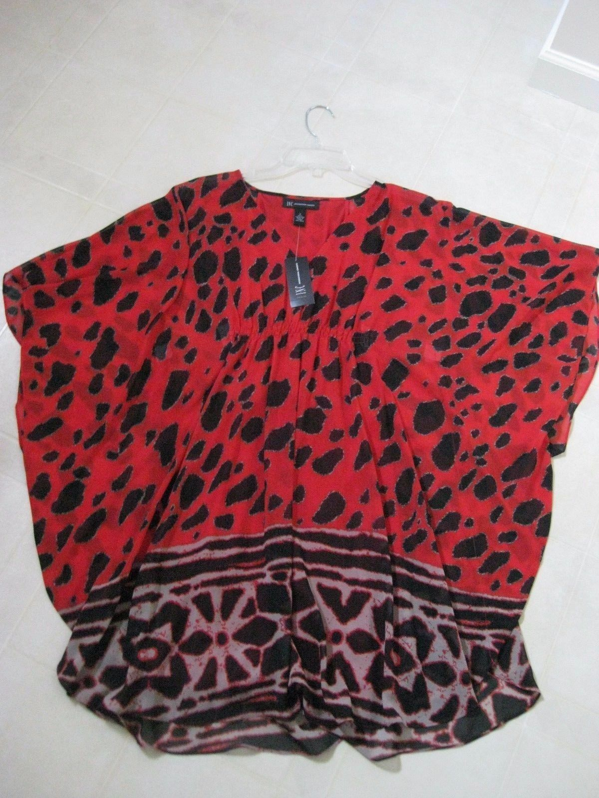 I.N.C International Concepts Dress   Batwing-Dolman Sleeves   Size 2   BNWT
