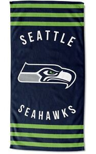 The Northwest Company Seattle Seahawks 30 x 60 Striped Beach Towel