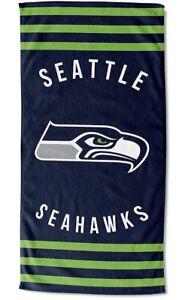 The Northwest Company Seattle Seahawks 30 x 60 Striped Beach Towel