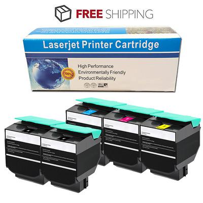 4 Pack Extra High Yield Black Laser Toner Cartridge for Lexmark C544X2KG