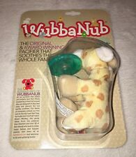 Wubba Nub Giraffe Pacifier Infant Baby Pacifier Soothie Binky Toy WUBBANUB NEW