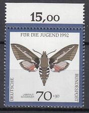 BRD 1992 Mi. Nr. 1603 mit Oberrand Postfrisch TOP!!! (27657)