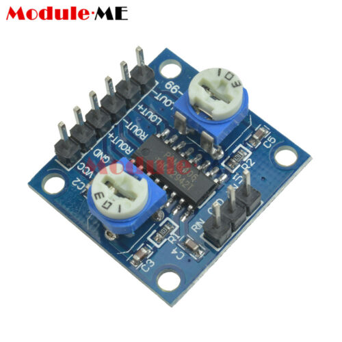 PAM8406 Digital Amplifier Board With Volume Potentiometer 5Wx2 5W+5W Stereo