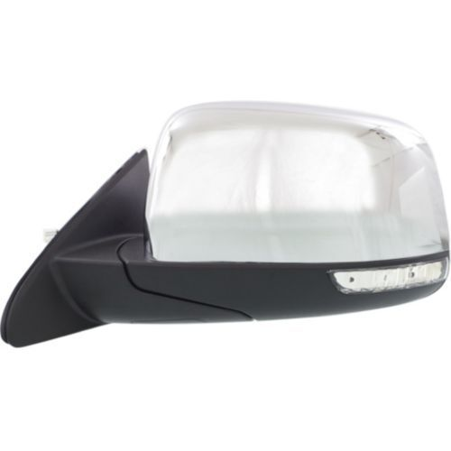 Driver Side Mirror For Grand Cherokee 11-16 Chrome