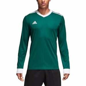Adidas Tabela 18 Men's Football Jerseys Retro Long Sleeve Team T ...