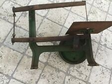 Antique Wood Scroll Saw Vintage Tool  Antique Saw Jig Saw With Blade