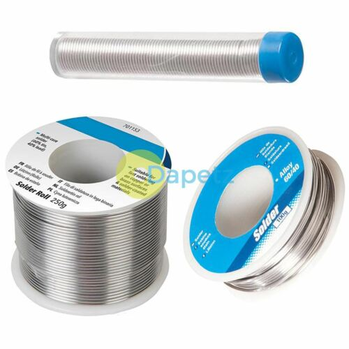20g 100g 250g Soldering Wire Kit Electrician//Plumbing//Hobby//Circuit Board