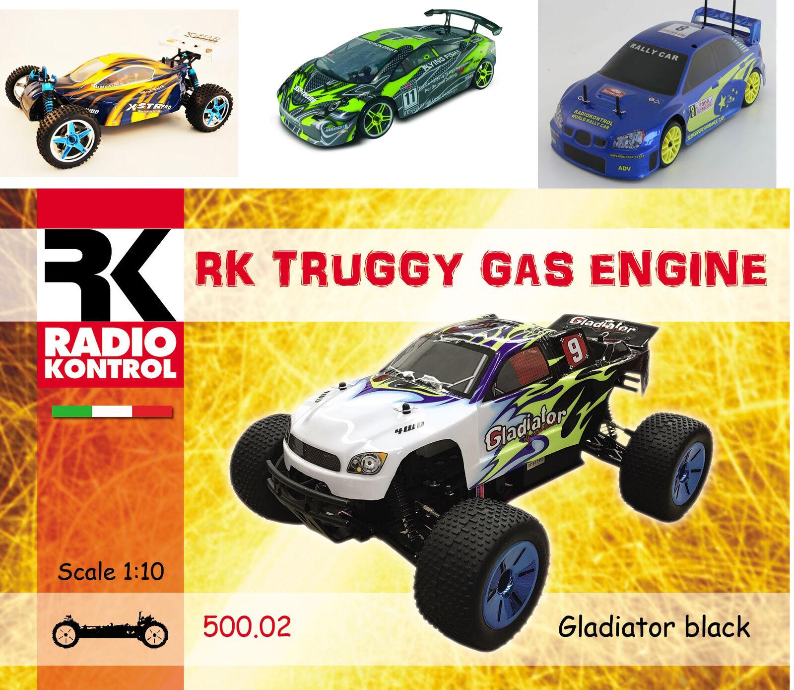 RADIOKONTROL AUTOmodelloLI RADIOCOuomoDATI  4WD  SCALA 1-10 ELETTRICA-A SCOPPIO  marca