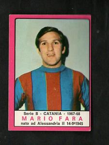 Figurina-Calciatori-Panini-1967-68-Fara-Catania-Ottima-Rec-RARA