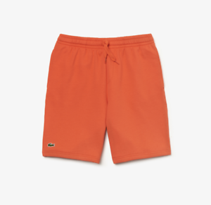 a06bfa83286086 Lacoste Sports Tennis Fleece Shorts   GH2136-51-5MC Orange New 2019 ...
